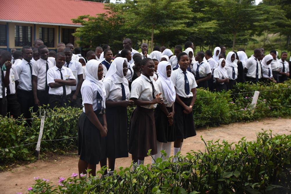 Optreden van leerlingen