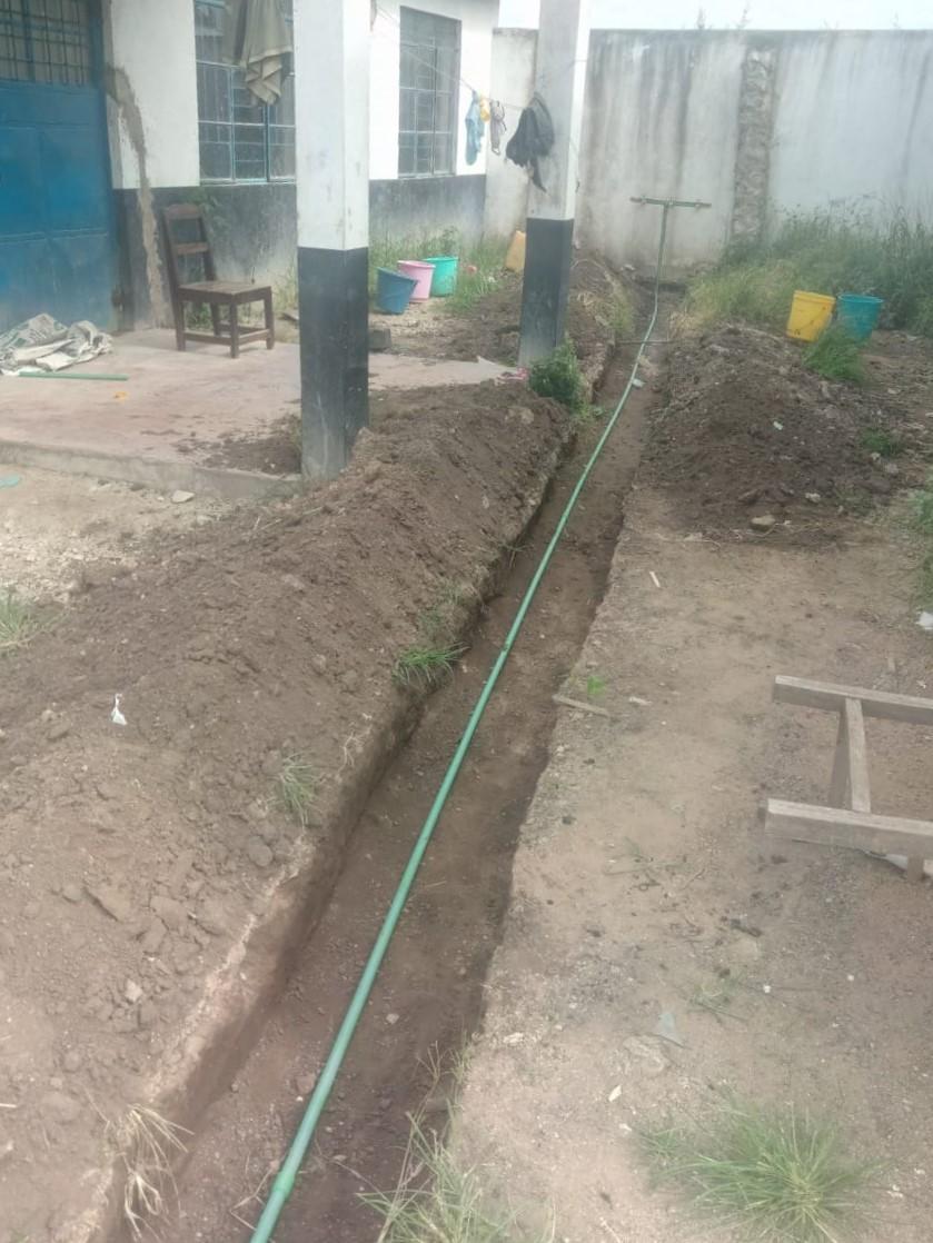 De extra waterleiding